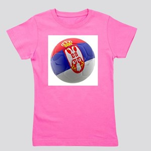 Serbia World Cup Ball Girl's Tee