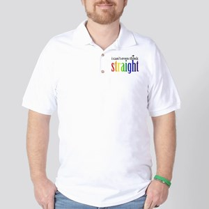 i can't even think straight Golf Shirt