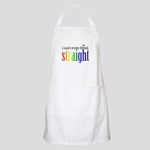 i can't even think straight Apron