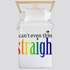 i can't even think straight Twin Duvet