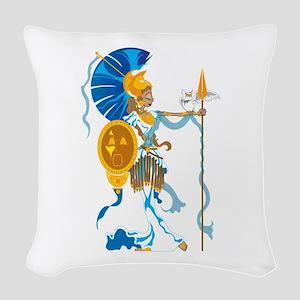 Athena Woven Throw Pillow