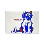 Funny Hello Meoow Rectangle Magnet (10 pack)