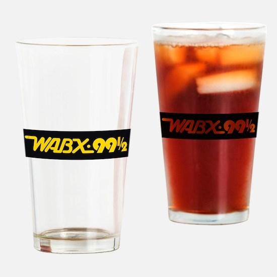 Detroit Radio WABX 99.5 Drinking Glass