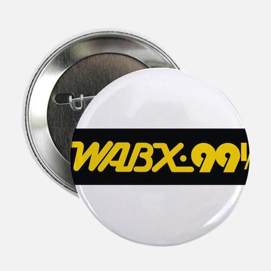 """Detroit Radio WABX 99.5 2.25"""" Button"""