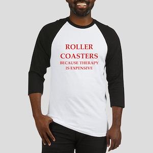 roller coaster Baseball Jersey