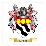 Clemmo Square Car Magnet 3