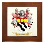 Clemmo Framed Tile