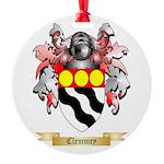 Clemmey Round Ornament