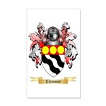 Clemmey 20x12 Wall Decal