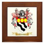 Clemmey Framed Tile