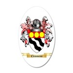 Clemmens 20x12 Oval Wall Decal