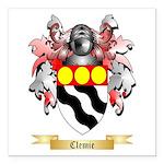 Clemie Square Car Magnet 3