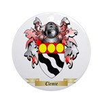 Clemie Ornament (Round)