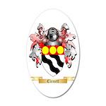 Clemett 20x12 Oval Wall Decal