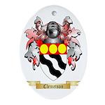 Clemetson Ornament (Oval)