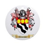 Clemeson Ornament (Round)