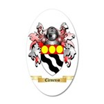 Clemenzo 35x21 Oval Wall Decal