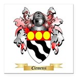 Clemenzi Square Car Magnet 3