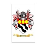 Clemenzi 35x21 Wall Decal