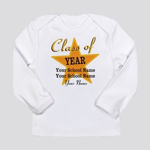 Custom Graduation Long Sleeve T-Shirt