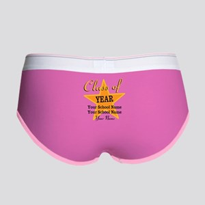 Custom Graduation Women's Boy Brief