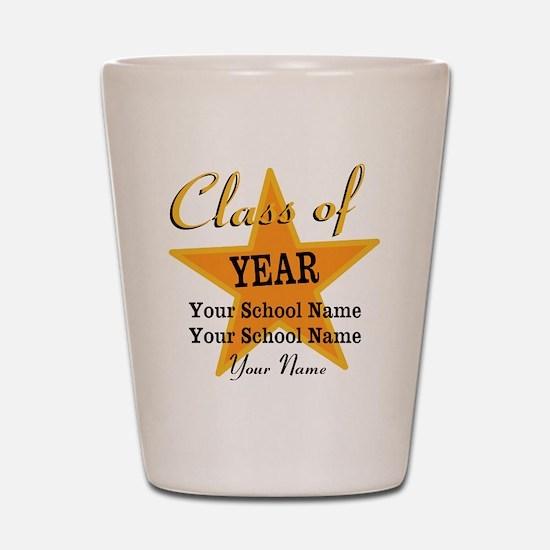 Custom Graduation Shot Glass