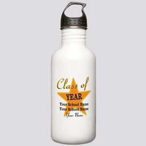 Custom Graduation Water Bottle