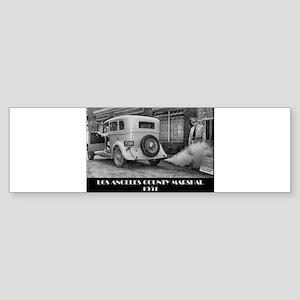 Los Angele County Marshal Bumper Sticker
