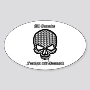 All Enemies Skull Sticker