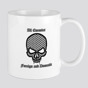 All Enemies Skull Mug