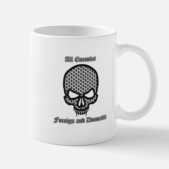 All Enemies Skull Mug