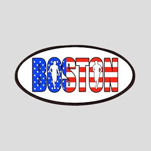 Boston patriot Patches