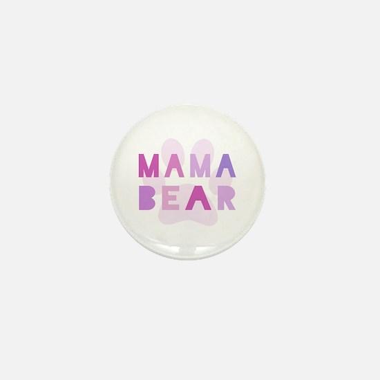 Mama bear Mini Button