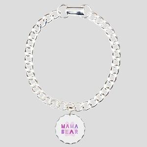 Mama bear Charm Bracelet, One Charm