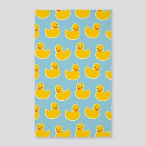 Cute Ducky Pattern 3'x5' Area Rug
