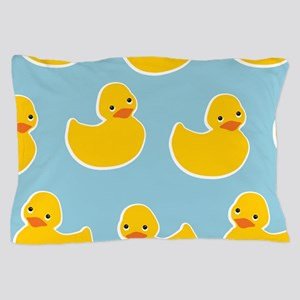 Cute Ducky Pattern Pillow Case