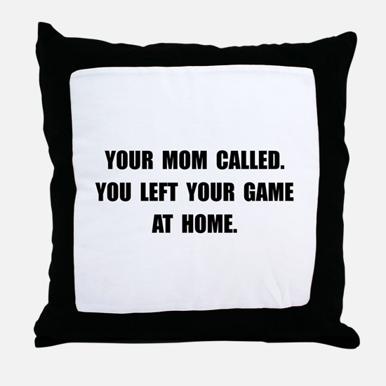 Game At Home Throw Pillow