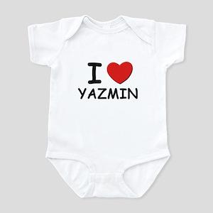 I love Yazmin Infant Bodysuit