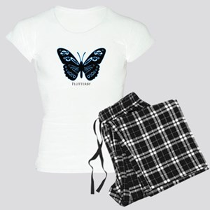 Blue Glow Butterfly Pajamas