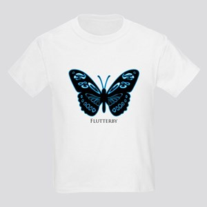 Blue Glow Butterfly T-Shirt
