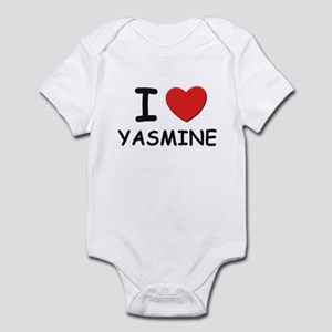 I love Yasmine Infant Bodysuit