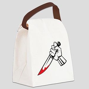 Murder Canvas Lunch Bag