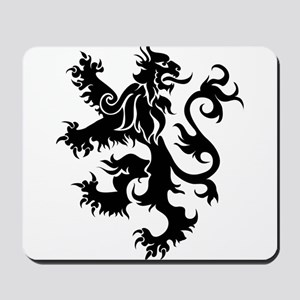 Heraldry Lion Mousepad