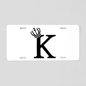 CSAR King Aluminum License Plate