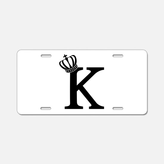 CSAR King Aluminum License Plate