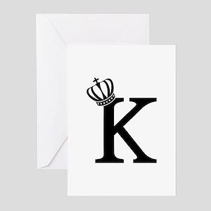 CSAR King Greeting Cards (Pk of 10)