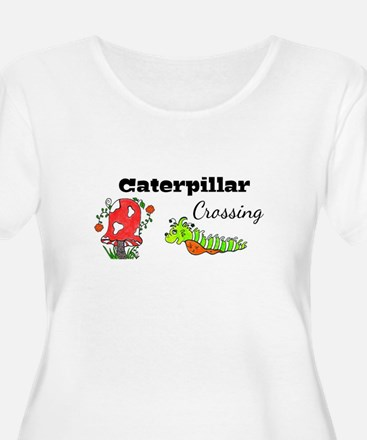 Caterpillar Crossing Plus Size T-Shirt