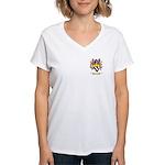 Clementucci Women's V-Neck T-Shirt