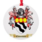 Clementucci Round Ornament