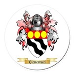 Clementucci Round Car Magnet